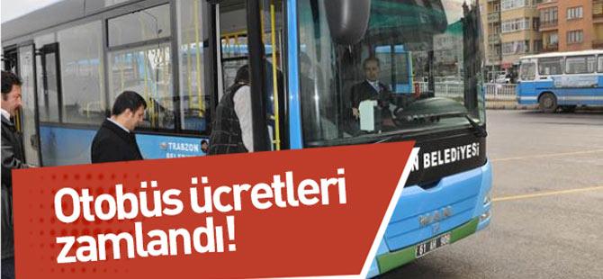 Otobüs Ücretlerine Zam