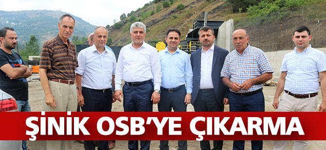 ŞİNİK OSB'YE ÇIKARMA