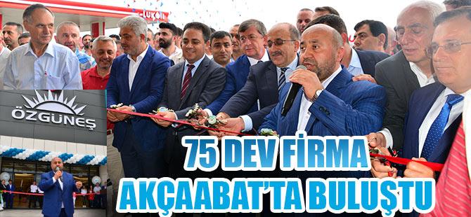 75 Dev Firma Akçaabat'ta