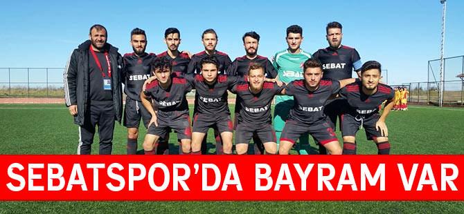 Sebatspor'^da Bayram Var