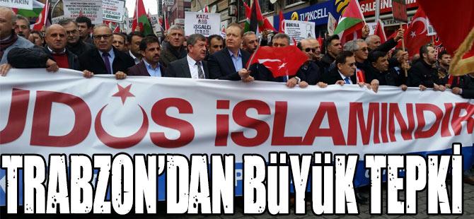 Trabzon'dan Büyük Tepki