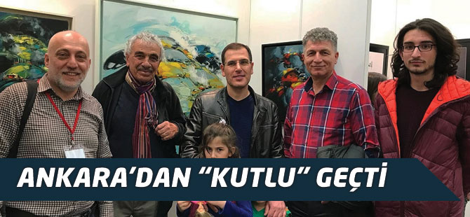 "Ankaradan "" Kutlu "" Geçti"