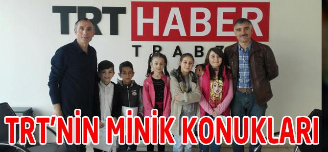 TRT'nin Minik Konukları