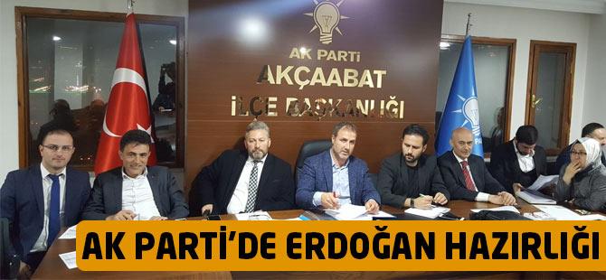 AK Parti'de Erdoğan Hazırlığı