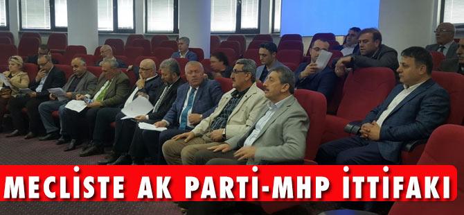 Mecliste AK Parti-MHP İttifakı