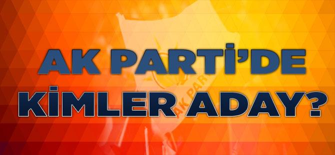 AK Parti'de Kimler Aday?
