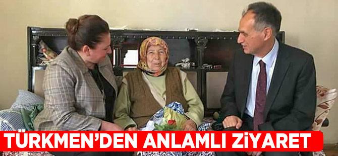 Türkmen'den Anlamlı Ziyaret