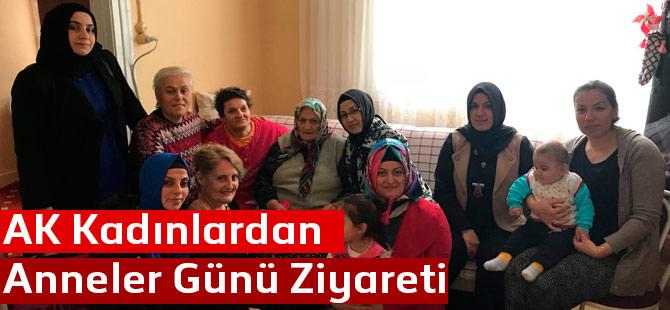 AK Kadınlardan Anlamlı Ziyaret