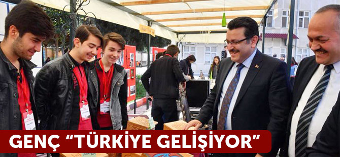 """Genç """"Türkiye Gelişiyor"""""""