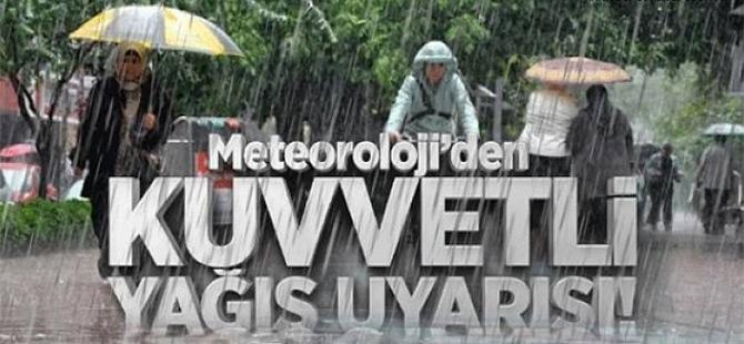 Trabzon'da Şiddetli Yağış Bekleniyor.