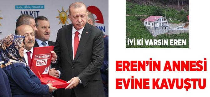 Eren'in Annesi Evine Kavuştu