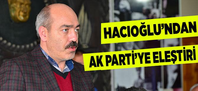 CHP Akçaabat İlçe Başkanı'ndan AK Parti'ye Eleştiri