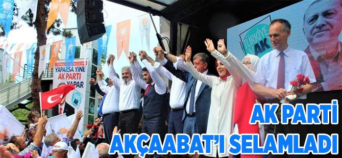 AK Parti'den Akçaabat'ta Son Prova