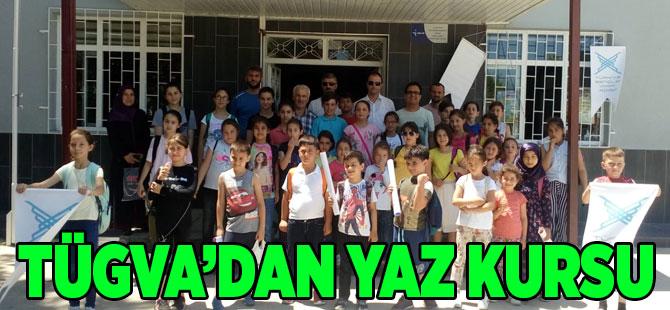 TÜGVA Akçaabat İlçe Temsilciliği, yaz okulu düzenledi.