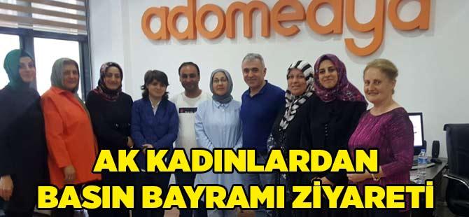AK Kadınlardan Basın Ziyareti