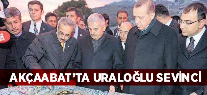 Akçaabat'ta Uraloğlu Sevinci