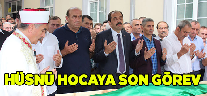 Hüsnü Hocaya Son Görev