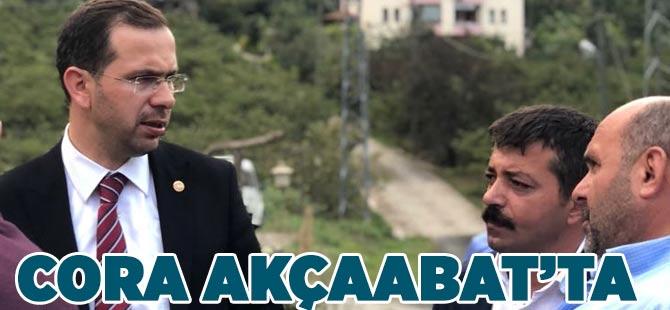 Cora Akçaabat'ta
