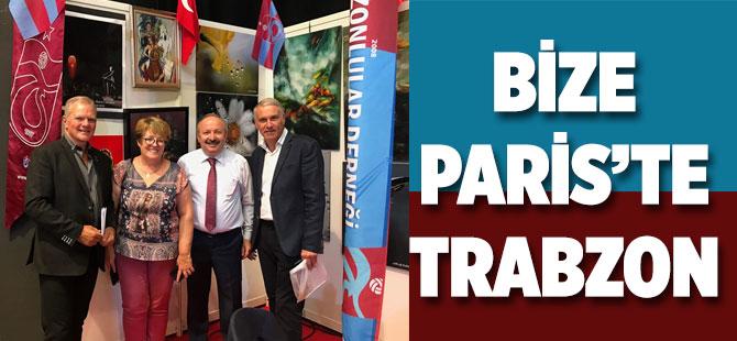 Bize Paris'te Trabzon