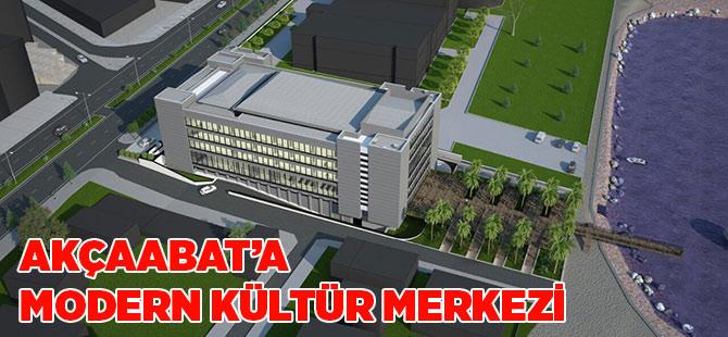 Akçaabat'a Modern Kültür Merkezi