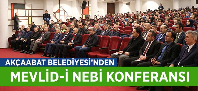 Akçaabat Belediyesinden Mevlid-i Nebi Konferansı