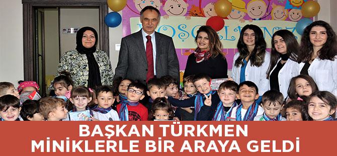 Başkan Türkmen Miniklerle Bir Araya Geldi