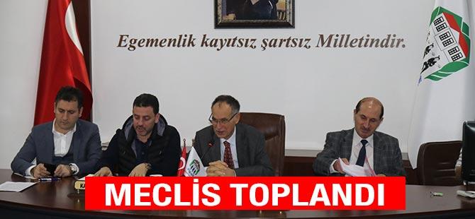 Akçaabat Belediye Meclisi'nin Aralık ayı toplantısı başladı.