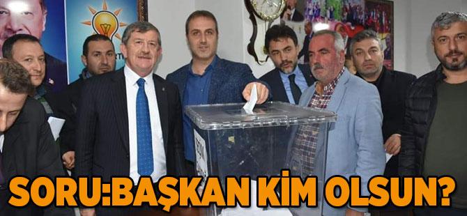 AK Parti'de Temayül Yapıldı