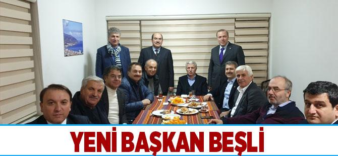 Dernek Başkanlığına Beşli Getirildi