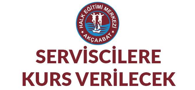 Halk Eğitim'den Serviscilere Kurs