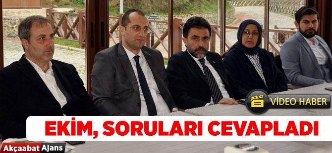 Osman Nuri Soruları Cevapladı