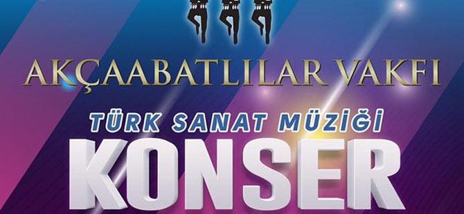 Akçaabat'ta TSM Konseri