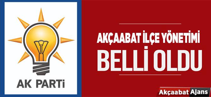AK Parti İlçe Yönetimi Belli Oldu