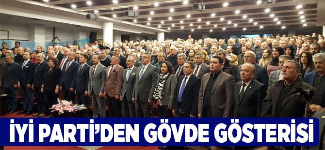 İYİ Parti'den Gövde Gösterisi