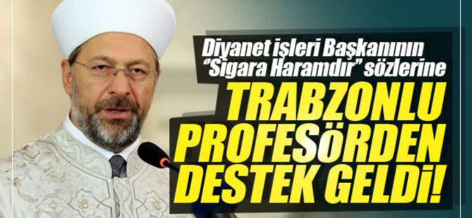 Trabzonlu Hocadan Destek