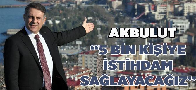 Akbulut en büyük projesini son gün açıkladı
