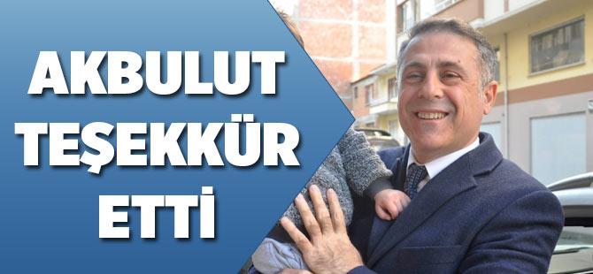 Osman Akbulut teşekkür etti