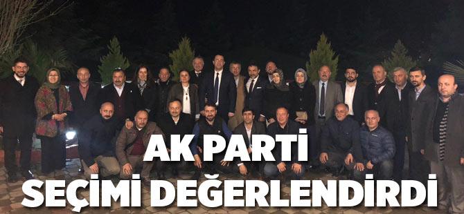 AK Parti Seçimi Değerlendirdi