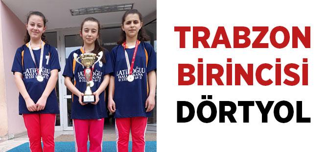 Dörtyol Ortaokulu Trabzon Birincisi