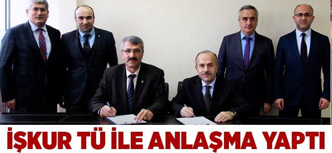 İŞKUR ile Trabzon Üniversitesi Anlaştı