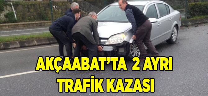 Akçaabat Salacık'ta Kaza