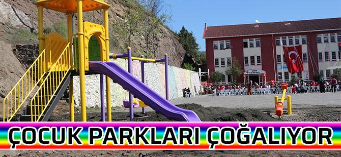 Çocuk Parkları Çoğalıyor