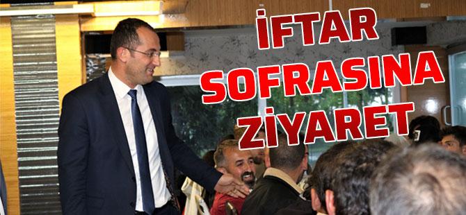 Başkan Ekim İftar Sofrasını Ziyaret Etti