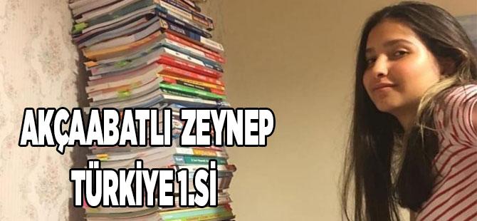 Akçaabatlı Öğrenci Türkiye 1. Si Oldu