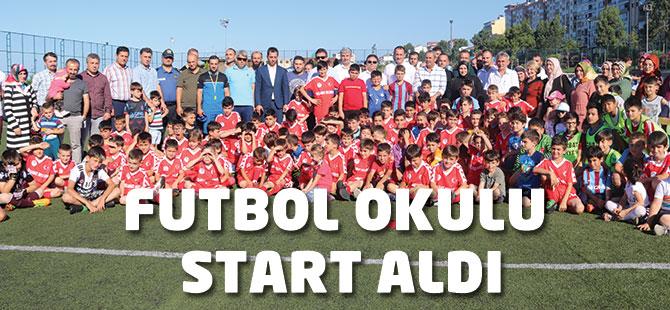 Futbol Okulu Start Aldı