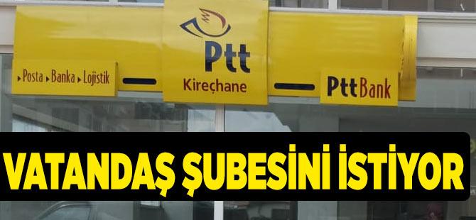 Kireçhane PTT'sini Geri İstiyor.
