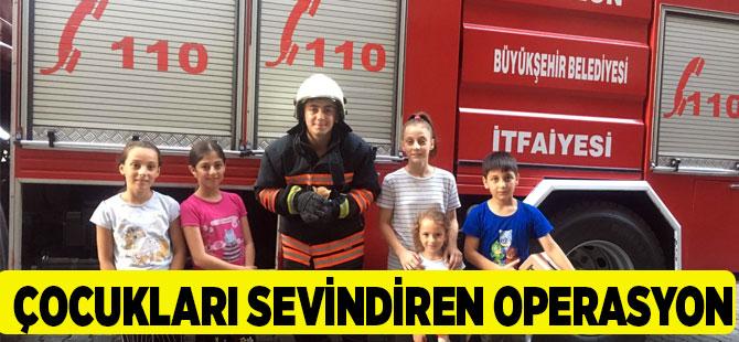 Çocukları Sevindiren Operasyon