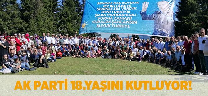 AK Parti 18.Yaşını Kutluyor
