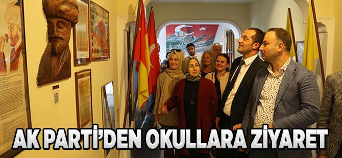 AK Parti'den Okullara Ziyaret