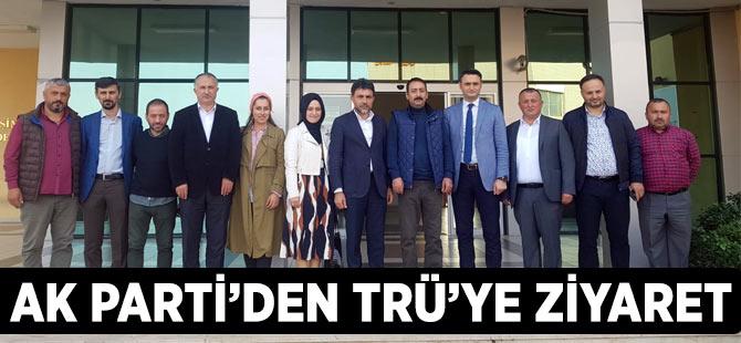 AK Parti'den TRÜ'ye Ziyaret
